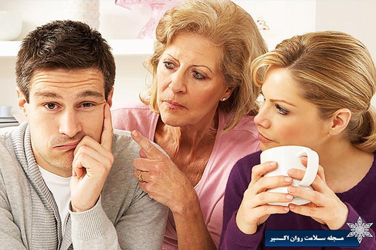 برخورد صحیح با خانواده همسر
