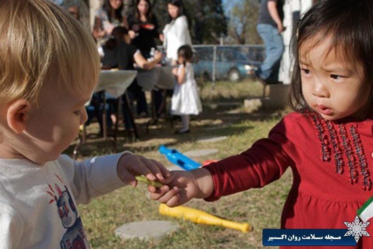 آموزش رعایت حقوق دیگران به کودکان