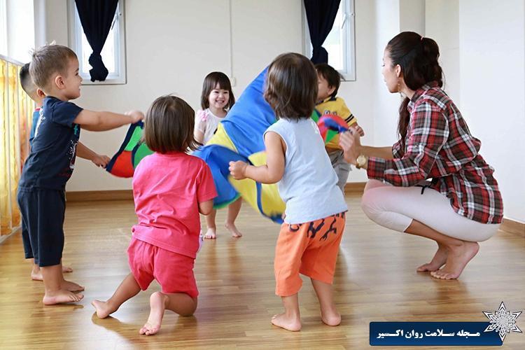 گروه درمانی کودکان