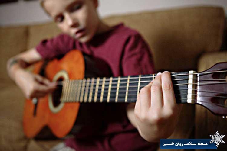 آموزش موسیقی بر مغز کودکان
