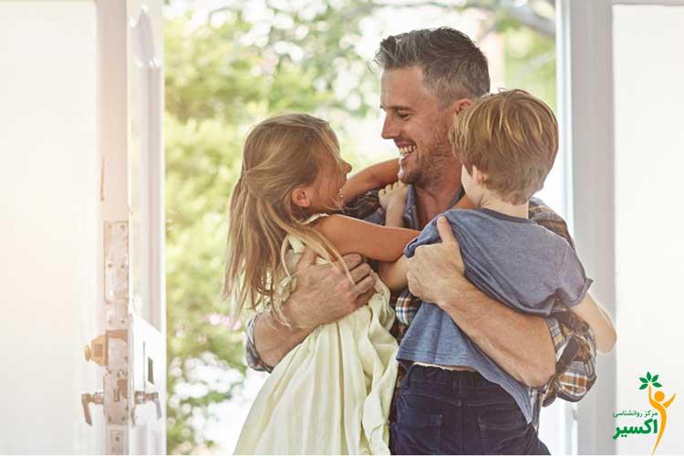 تاثیرات آغوش گرفتن فرزندان