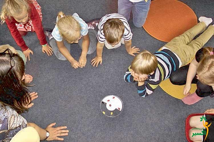 بازی های اجتماعی در سنین مختلف
