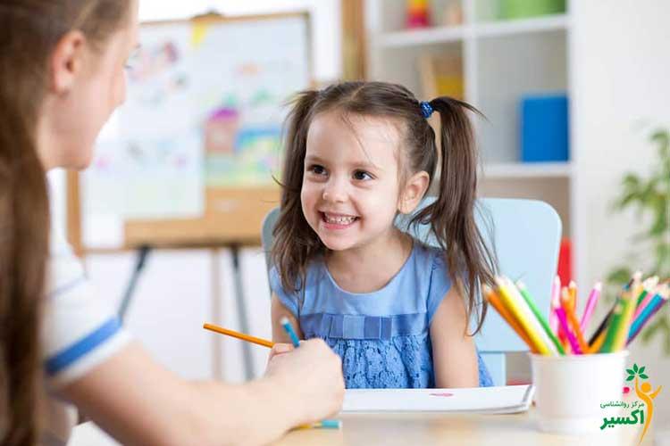 روان درمانی کودک و انواع اختلالات