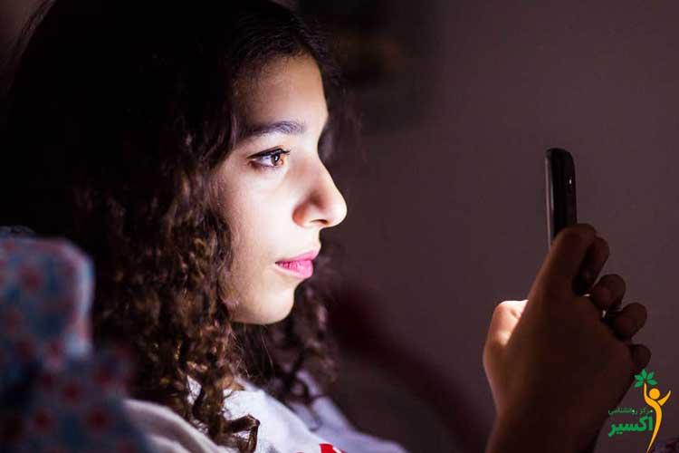 فضای مجازی و اختلال در خواب نوجوانان
