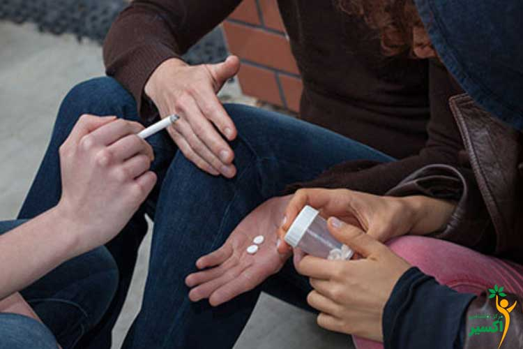 اختلال مصرف مواد افراد