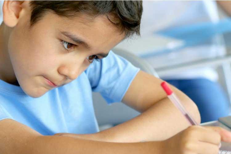 اختلال نوشتن یکی از انواع اختلال یادگیری