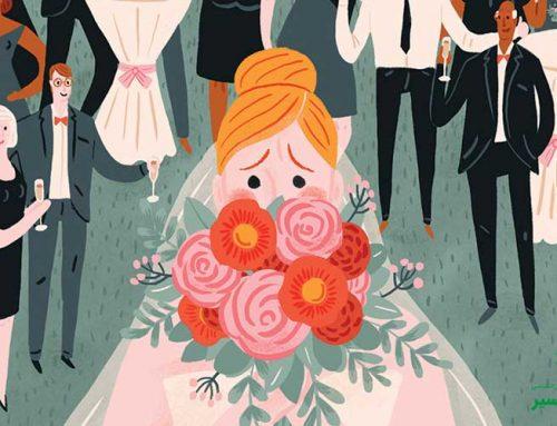 اضطراب عروسی هنگام ازدواج