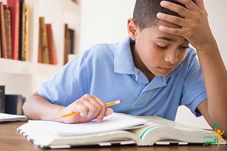 کنترل اضطراب امتحان کودکان