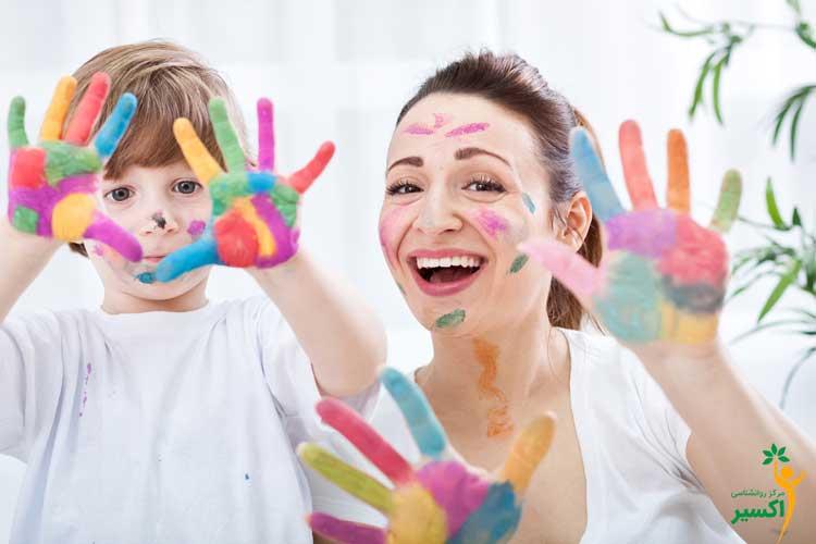 بازی های ساده برای کودکان بیش فعال