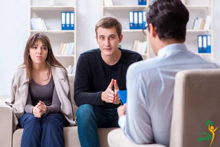 مراجعه به مشاوره ازدواج جوانان