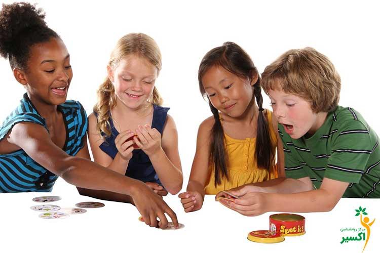 اهمیت بازی درمانی گروهی
