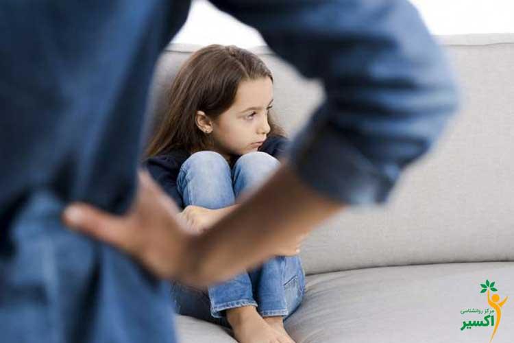 تاثیر بد رفتاری با کودکان