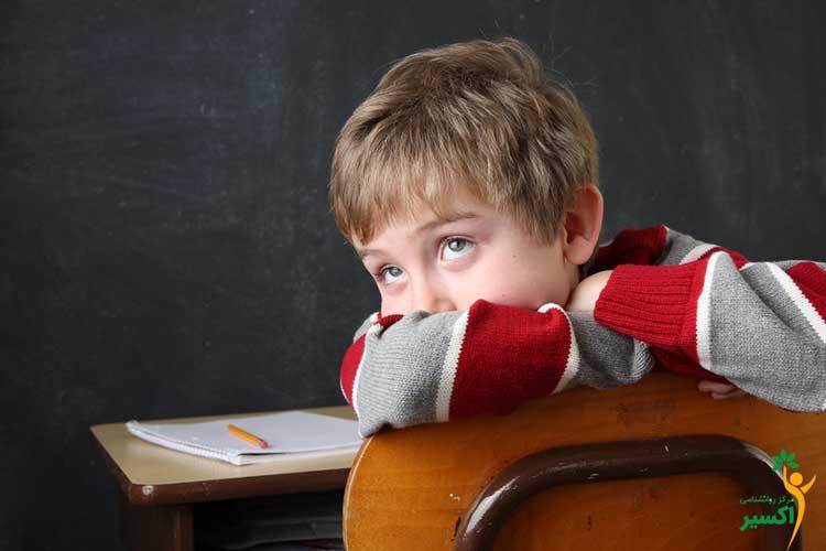 تشخیص رابطه بیش فعالی نقص توجه و ناتوانی یادگیری  در کودکان