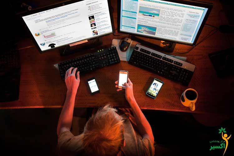 بیماری های رایج اینترنتی در افراد