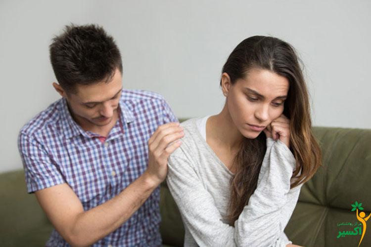 تاثیر افسردگی بر رابطه افراد