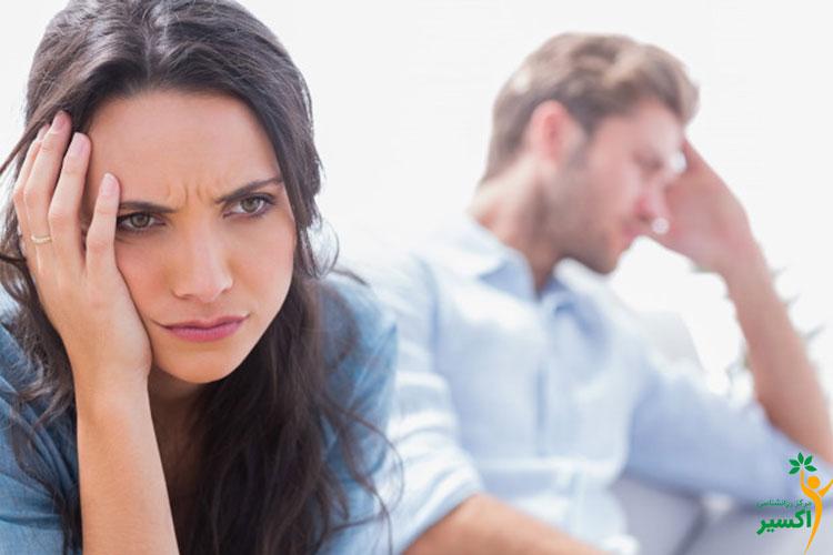 رابطه اضطراب و تاثیر افسردگی بر رابطه