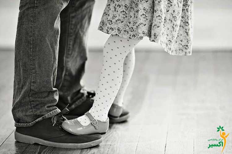 تاثیر برخورد بد پدران بر آینده کودک