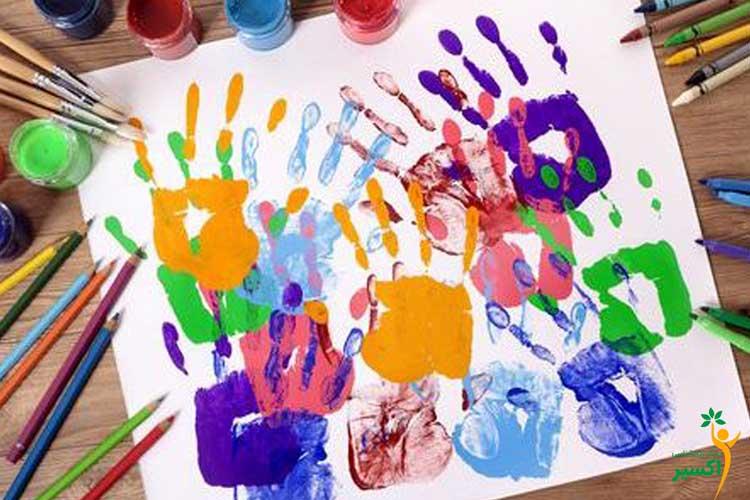 تاثیر رنگ و کودکان
