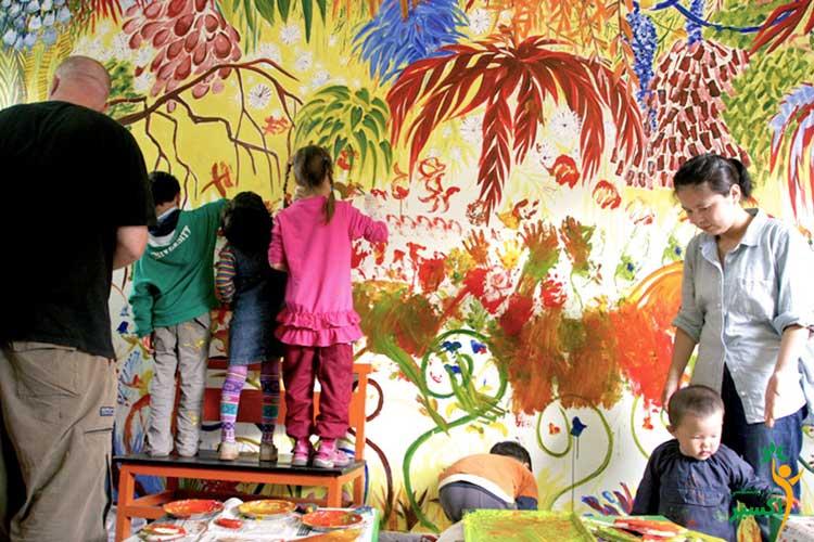 نقاشی در کودکان در سنین مختلف