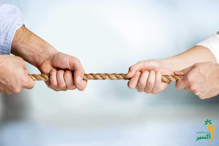 تعارض جزیی از رابطه