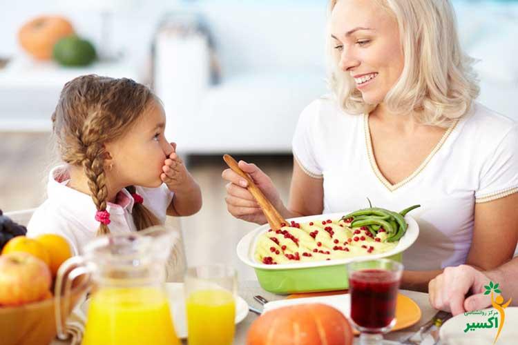 ضرورت تغذیه سالم در کودکان