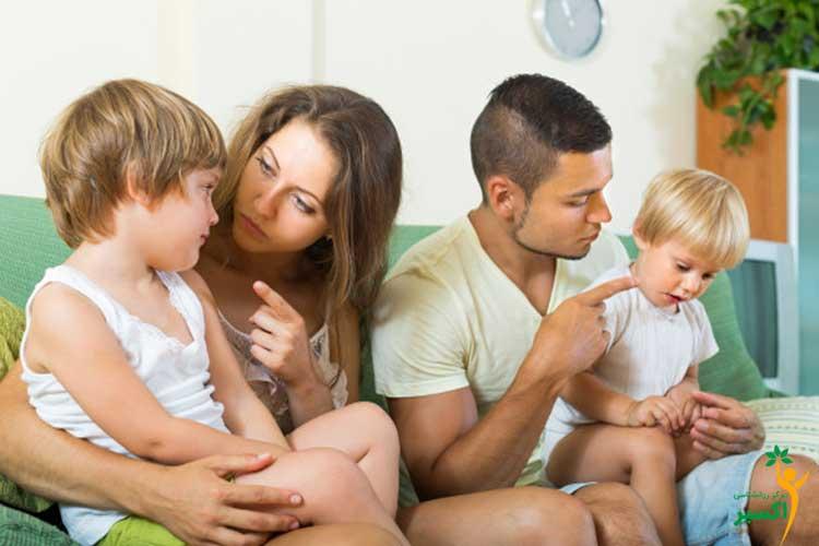 تغییر رفتار نامناسب کودکان