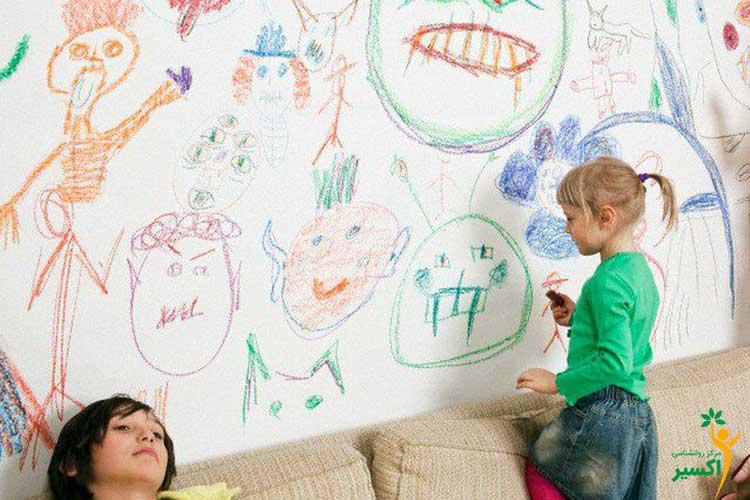 شیوه تفسیر آدمک در نقاشی کودکان