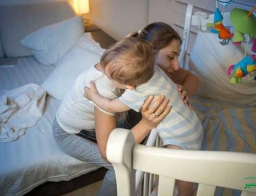 جداکردن محل خواب کودک