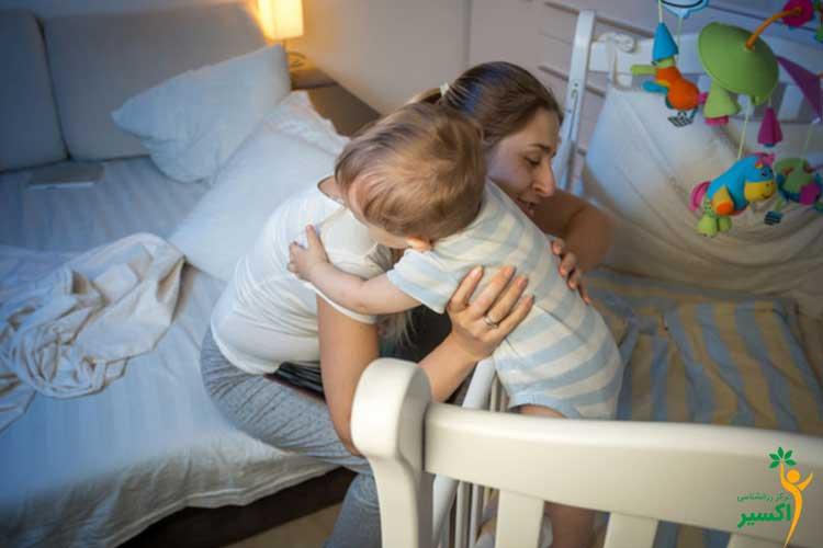 نحوه جداکردن محل خواب کودک