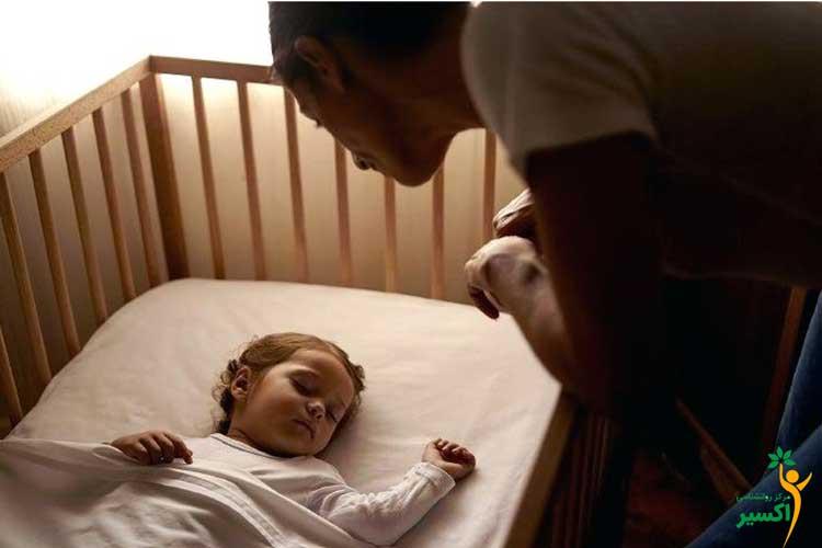 نحوه جداکردن اتاق خواب کودک