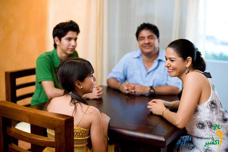 شیوه ی تشکیل جلسه ی خانوادگی