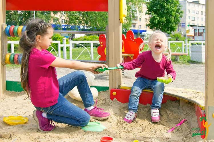 آشنای با حس مالکیت در کودکان