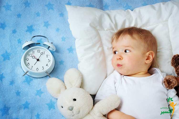نظم دادن به خواب نوزادان