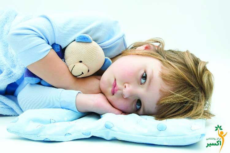کنترل عوامل مزاحم خواب کودک