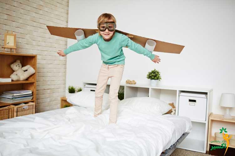 علت خیال پردازی در کودکان