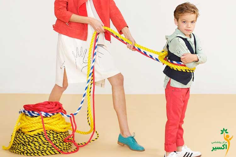 دادن آزادی به کودک توسط والدین