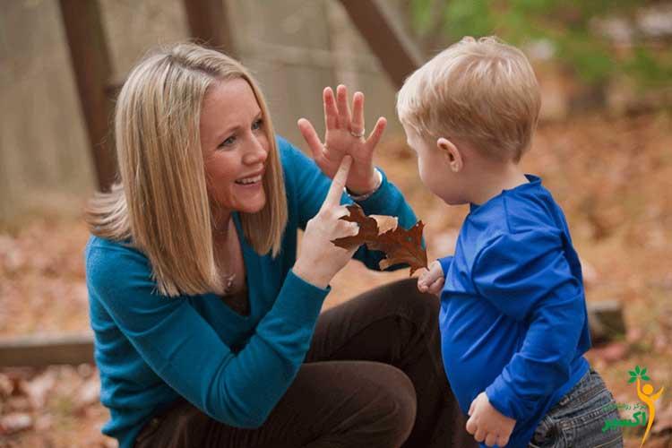 تاثیر زبان اشاره