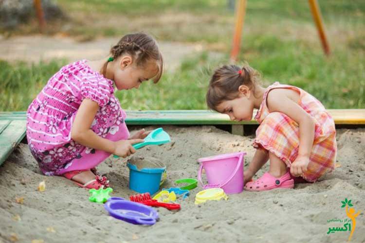 اهمیت شن بازی کودکان