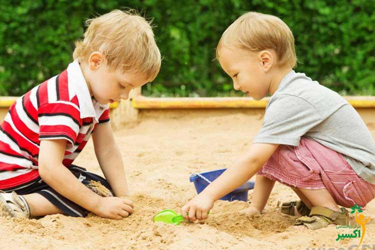 شن درمانی کودکان