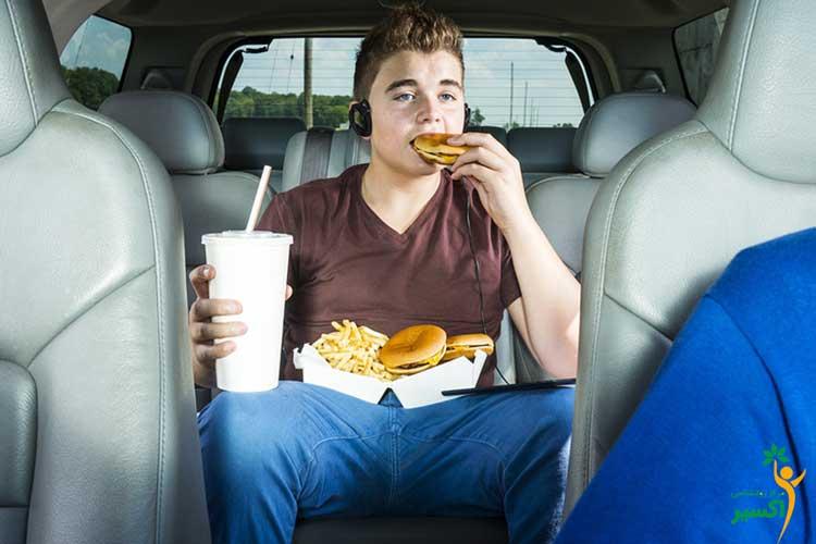 اثرات عادات غذایی ناسالم
