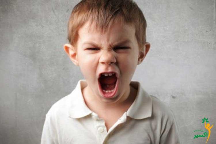 تشخیص عصبانیت کودکان