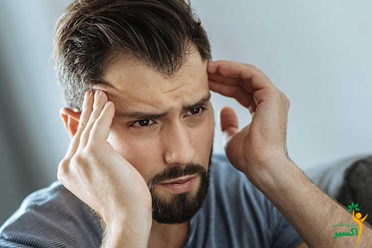انواع علائم استرس در مردان