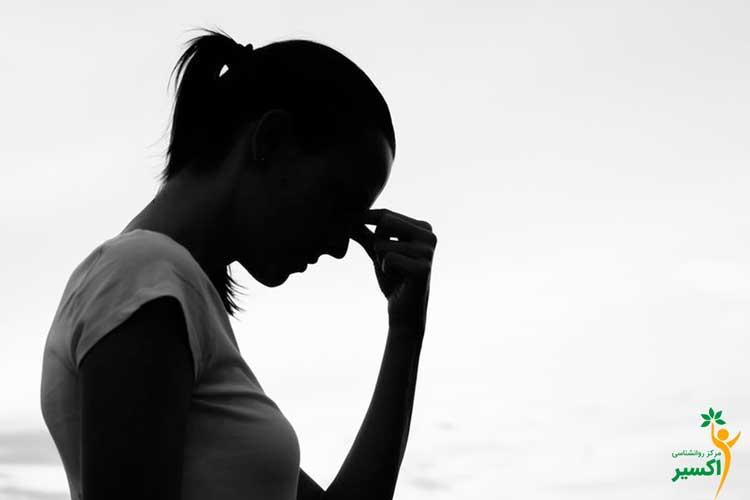 انواع علائم اضطراب