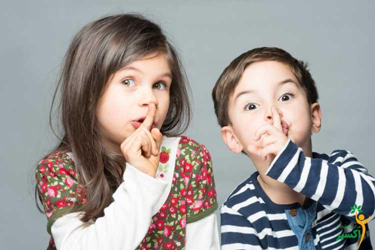 دلایل دروغ گویی کودکان
