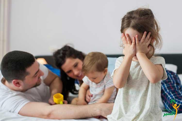علت حسادت کودکان