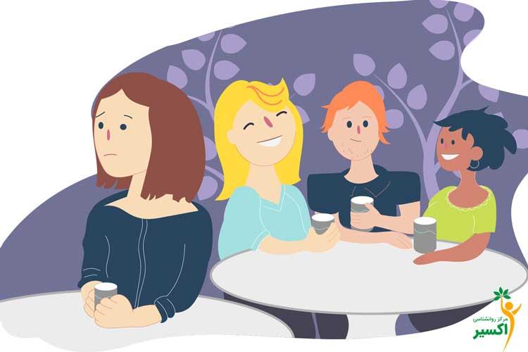 افزایش اختلال اضطراب اجتماعی