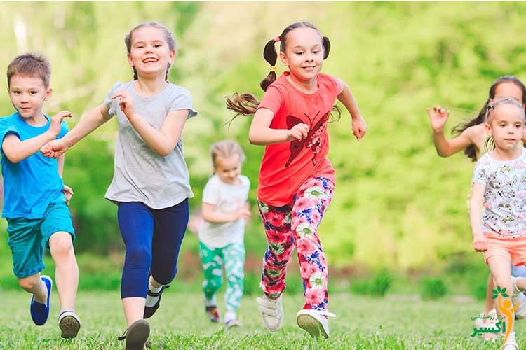اثرات فعالیت بدنی کودکان