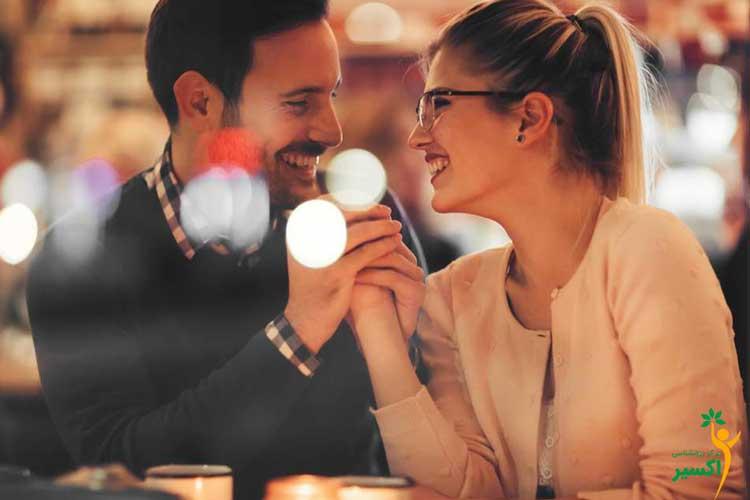 قرار عاشقانه با افراد حساس