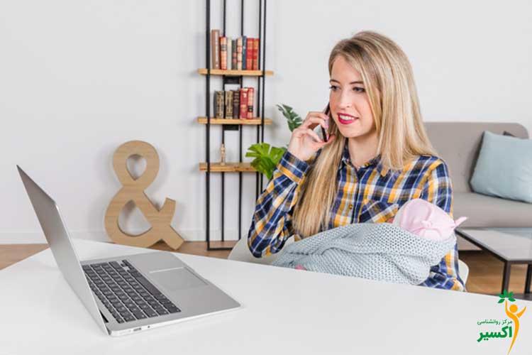 کاربرد مشاوره تلفنی روانشناسی در اکسیر