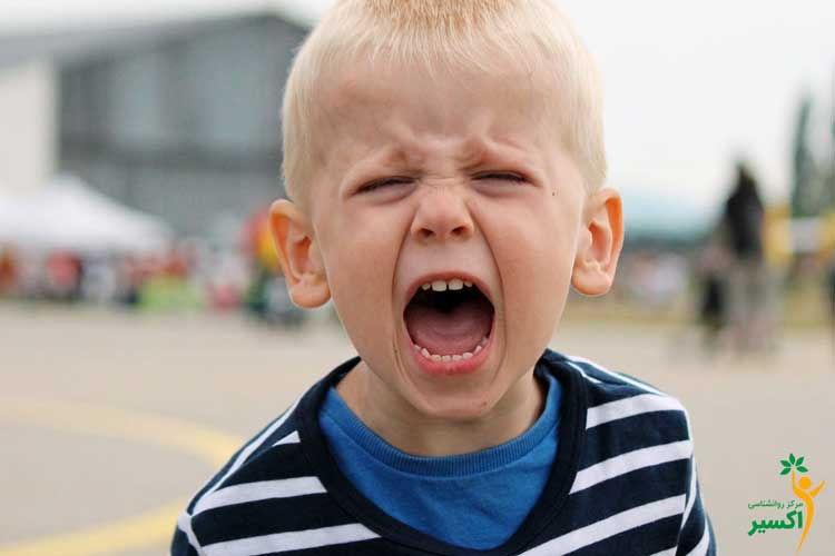 روش مهار کردن خشم کودکان